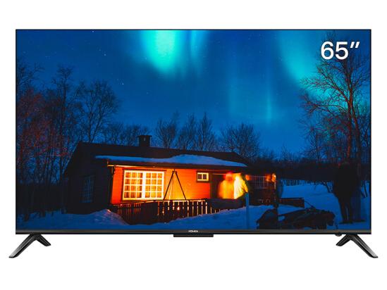 康佳(KONKA)LED65D8 65英寸 4K超高清 超薄全面屏 金属机身 2GB+64GB大内存 AI智慧屏教育电视