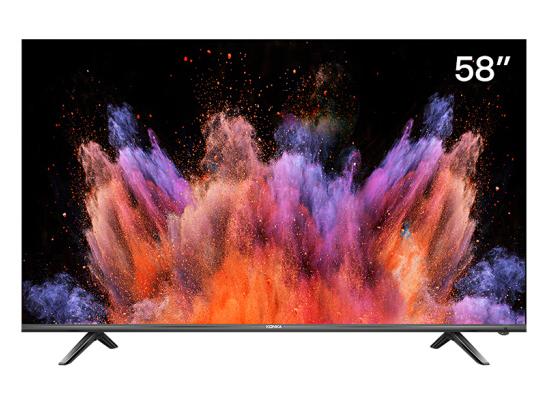 康佳(KONKA)LED58U5 58英寸 4K超高清 全面屏 AI智能语音 2GB+16GB大内存 网络平板液晶教育电视机