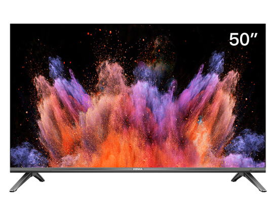 康佳(KONKA)LED50U5 50英寸 4K超高清 全面屏 AI智能语音 2GB+16GB大内存 网络平板液晶教育电视机