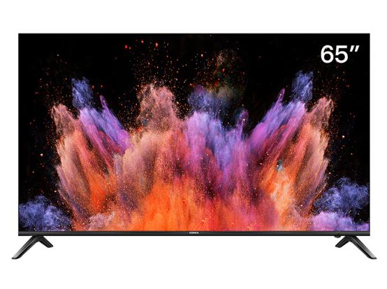 康佳(KONKA)LED65U5 65英寸 4K超高清 超薄全面屏 AI智能语音 2GB+16GB大内存 网络平板液晶教育电视机