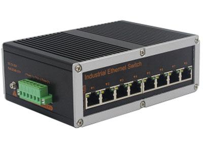 宇航光通 非网管工业交换机 百兆8电 YHR08F 百兆8电工业级以太网交换机产品符合 FCC、CE、ROHS 标准。此系列交换机具有 -40℃~ 85℃的工作温度, 具有超强的坚固度能适应各种严苛环境,也可以非常方便的安置在空间紧凑的控制箱中。导轨式的安装特性、宽温操作及拥有 IP40 防护等级的外壳及 LED 指示灯,使之成为一个即插即用的工业级设备,为用户的以太网设备联网提供可靠、便捷的解决方案。
