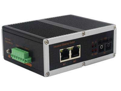 宇航光通  非网管工业交换机 百兆1光2电 YHR12F 百兆1光2电工业级以太网交换机产品符合 FCC、CE、ROHS 标准。此系列交换机具有 -40℃~ 85℃的工作温度, 具有超强的坚固度能适应各种严苛环境,也可以非常方便的安置在空间紧凑的控制箱中。导轨式的安装特性、宽温操作及拥有 IP40 防护等级的外壳及 LED 指示灯,使之成为一个即插即用的工业级设备,为用户的以太网设备联网提供可靠、便捷的解决方案。