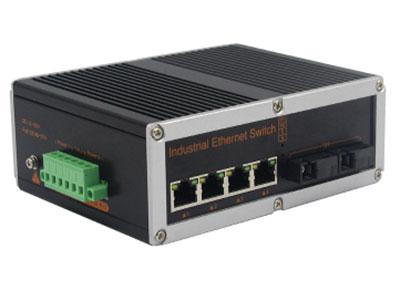 宇航光通 非网管工业级交换机 百兆2光4电 YHR24F 4路百兆电口+2路百兆FX光口工业级以太网交换机,支持4个10Base-T/100Base-TX电口和2个100Base-X光口。产品符合FCC、CE、ROHS标准。YHR24F系列交换机具有-40℃~85℃的工作温度,具有超强的坚固度能适应各种严苛环境,也可以非常方便的安置在空间紧凑的控制箱中。导轨的安装特性、宽温操作及拥有IP40防护等级的外壳及LED指示灯,使YHR24F成为一个即插即用的工业级设备,为用户的以太网设备联网提供可靠、便捷的解决方案。