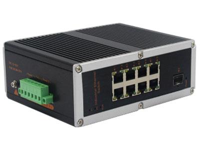 宇航光通  非网管工业交换机 百兆1光8电 YHR18F 百兆1光8电工业级以太网交换机产品符合 FCC、CE、ROHS 标准。此系列交换机具有 -40℃~ 85℃的工作温度, 具有超强的坚固度能适应各种严苛环境,也可以非常方便的安置在空间紧凑的控制箱中。导轨式的安装特性、宽温操作及拥有 IP40 防护等级的外壳及 LED 指示灯,使之成为一个即插即用的工业级设备,为用户的以太网设备联网提供可靠、便捷的解决方案。