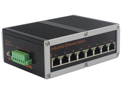 宇航光通   非网管工业交换机 千兆8电 YHD08G 千兆8电工业级以太网交换机产品符合 FCC、CE、ROHS 标准。此系列交换机具有 -40℃~ 85℃的工作温度, 具有超强的坚固度能适应各种严苛环境,也可以非常方便的安置在空间紧凑的控制箱中。导轨式的安装特性、宽温操作及拥有 IP40 防护等级的外壳及 LED 指示灯,使之成为一个即插即用的工业级设备,为用户的以太网设备联网提供可靠、便捷的解决方案。