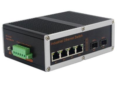 宇航光通 网管工业级 千兆2光4电-SFP YH624BGS-SFP 网管型千兆2光4电工业级以太网交换机,产品符合FCC、CE、ROHS标准。支持2个千兆光口和4个千兆电口,支持一路console口;支持工业现场所需的以太网二层协议,保证通信网络的稳定性;该系列交换机采用低功耗、无风扇设计,确保无噪声干扰,同时支持-40~85℃工作温度和良好的EMC电磁兼容性能,保证在恶劣的工业环境中保持稳定的工作,为工厂自动化,智能交通,视频监控等工业应用领域组建快速稳定的网络终端接入网络提供安全可靠的解决方案。护等级的外壳及 LED 指示灯,使之成为一个即插即用的工业级设备,为用户