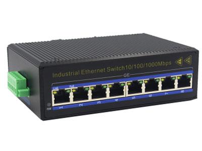 宇航光通  千兆8电 非网管工业交换机 ZXD08G 8路千兆电口工业级以太网交换机,支持8个10Base-T/100Base-T/1000Base-TX电口。产品符合FCC、CE、ROHS标准。YHD08G交换机具有-40℃~85℃的工作温度,具有超强的坚固度能适应各种严苛环境,也可以非常方便的安置在空间紧凑的控制箱中。导轨的安装特性、宽温操作及拥有IP40防护等级的外壳及LED指示灯,使YHD08G成为一个即插即用的工业级设备,为用户的以太网设备联网提供可靠、便捷的解决方案。