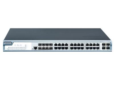 宇航光通 网管工业级千兆8光24电4万兆SFP YHL6824GST4-SFP 具备先进的硬件处理能力和最丰富的业务特性,支持虚拟路由冗余协议VRRP、DHCP snooping等市场功能需求,具备设备级和链路级的多重可靠性保护,支持热插拔式双电源模块。机架式的安装特性、宽温操作,使YHL6824GST4-SFP的交换机为用户的以太网设备联网提供可靠、便捷的解决方案。