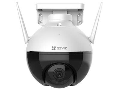 萤石  C8C室外云台智能家居摄像机 室外云台旋转监控,夜间彩色,IP66级防水防尘,1080P高清,无惧强光逆光