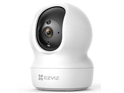 萤石  CP1系列萤石互联网摄像机 360°视角I 1080P/3MP可选| 10米红外夜视| H.265编码 |人形检测&追踪|双向语音