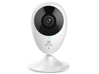 萤石  C2C多功能互联网摄像机/经典版/全景版 WIFI连接,大广角监控,高清红外夜视,磁力吸盘随心安装!上市多年性能稳定