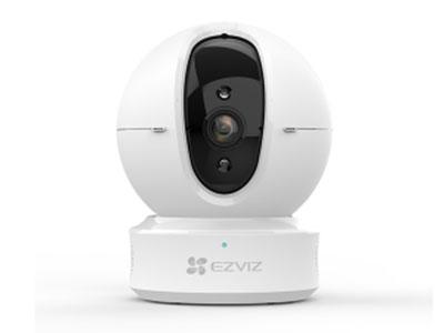 萤石  星光夜视版C6HC互联网摄像机 星光夜视,高品质画质,高清监控,人形智能追踪,H.265视频高效存储远程看