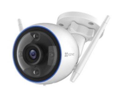 萤石  C3HC高清互联网摄像机-全彩wifi标准版 H.265智能编码,AI人形检测,防水防尘