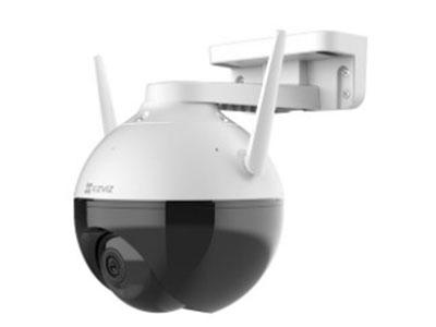 萤石  C8HC室外云台智能家居摄像机 室外云台旋转监控,IP66级防水防尘,1080P高清全彩,无惧强光逆光,人形追