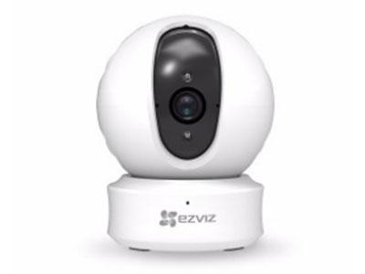 萤石  C6HC互联网云台摄像机 720p和1080p可选,360°云台水平监控,主动防御,声音警报震慑入侵者