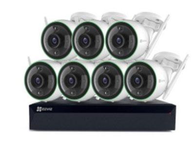 萤石  智能高清全彩无线套装1080P/4mm 全彩夜视| AI人形检测 | H.265高效存储