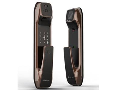 萤石  DL30VS指纹锁家用智能锁密码锁 视频指纹锁门铃