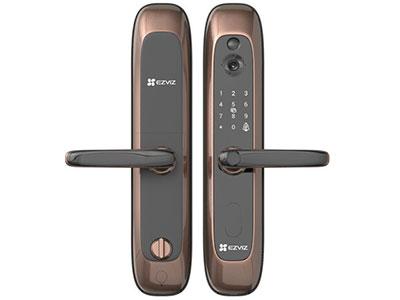 萤石  DL20VS指纹锁视频锁家用智能锁密码锁防盗门智能门锁视频监控门锁摄像头