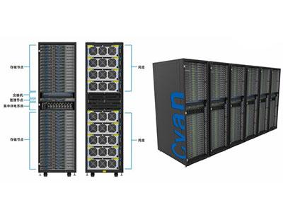 青云智能超融合一体机 青云自主可控存储一-体机SS2000是基于申威全国产化服务器及存储设备设计的海量数据存储系统,可用于云计算中心,大数据中心等海量存储服务场景。