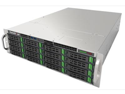 FT-S316-A1  青云飞腾系列企业级存储 青云FT-S316-A1是一款面向党政军及关键行业用户提供的3U企业级的存储设备其核心硬件基于全新- -代国产飞腾处理器,软件基于定制化的国产操作系统,核心部件国产化率达到100\% ;适用于各种军队、政府以及企事业等建设国产化存储系统的环境。