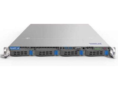 青云通用服务器  SYS-S1104 1.支持1颗 Intel®Xeon® E3-1200V5/V6系列,第六/七代 Intel® Corei3® 系列,  Intel® Celeron® 系列,Intel® Pentium® 系列处理器 2.Intel® C236芯片组 3.4个DDR4内存插槽,最大支持64G内存 4.支持4个3.5/2.5英寸热插拔盘位,1个M.2接口 5.1个PCI-E3.0扩展插槽 6.板载4x1000Mb/s网络