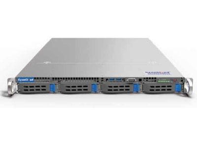 青云通用服务器  SYS-S1204 1.支持2颗 Intel® Xeon® E5-2600 V3/V4系列处理器 2.Intel® C612芯片组 3.8个DDR4内存插槽,最大支持1TB内存 4.支持4个3.5/2.5英寸SAS2/SATA3热插拔盘位 5.1个PCI-E3.0扩展插槽 6.板载2x1000Mb/s网络接口 7.集成IPMI2.0远程管理端口 8.4个USB3.0接口,2个USB2.0接口,  1个VGA接口,1个COM接口 9.400W 80PLUS 1+1高效冗余电源
