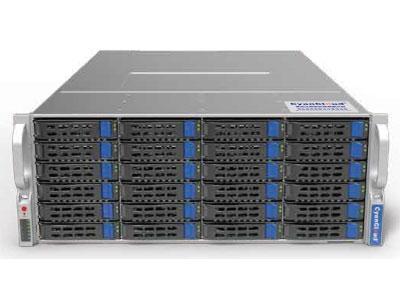 青云通用服务器  SYS-S4224 支持2颗 Intel® Xeon® E5-2600 V3/V4系列处理器 Intel® C612芯片组 8个DDR4内存插槽,最大支持1TB内存 支持24个3.5/2.5英寸SAS/SATA热插拔盘位 5个PCI-E3.0,1个PCI-E2.0扩展插槽 板载2x1000Mb/s网络接口 集成IPMI2.0远程管理端口 2个USB3.0接口,2个USB2.0接口, 1个VGA接口,1个COM口 800W 80PLUS 1+1高效冗余电源