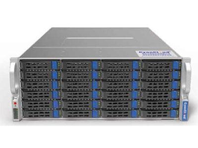青云通用服务器  SYS-S4136 1. 支持1颗 Intel® Xeon® E3-1200V5/V6系列,第六/七代 Intel®  Corei3® 系列,Intel® Celeron®系列Intel® Pentium® 系列处理器 2.Intel® C236芯片组 3.4个DDR4内存插槽,最大支持64G内存 4.支持36个3.5/2.5英寸热插拔盘位,1个M.2接口 5.3个PCI-E3.0扩展插槽 6.板载4x1000Mb/s网络