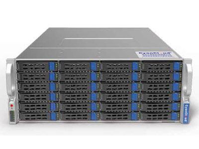 青云通用服务器  SYS-S4236 支持2颗 Intel® Xeon® E5-2600 V3/V4系列处理器 Intel® C612芯片组 8个DDR4内存插槽,最大支持1TB内存 支持36个3.5/2.5英寸SAS/SATA热插拔盘位 5个PCI-E3.0,1个PCI-E2.0扩展插槽 板载2x1000Mb/s网络接口 集成IPMI2.0远程管理端口 2个USB3.0接口,2个USB2.0接口, 1个VGA接口,1个COM口 1300W 80PLUS 1+1高效冗余电源