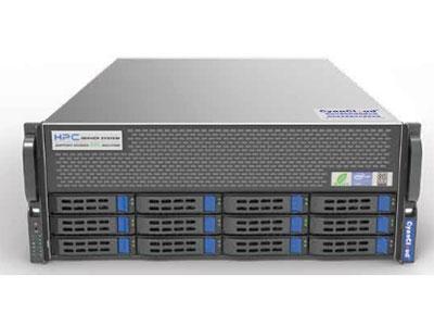 青云异构计算服务器  SYS-S4312-G4 1. 支持2颗Intel® Xeon® Scalable系列处理器 2. Intel® C621芯片组 3. 16个DDR4内存插槽,最大支持2TB内存 4.支 持12个3.5/2.5英寸SAS/SATA热插拔盘位 5. 7个PCI-E3.0扩展插槽 6.板载2x10000Mb/s网络接口 7.集成IPMI2.0远程管理端口 8. 1个VGA接口,2个USB3.0接口,  2个USB2.0接口,1个COM 口 9. 2000W铂金级冗余电源