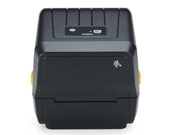 ZEBRA斑马条码打标机 亚银PET标签打印机铜版纸不干胶/合成纸线缆标签机 热敏热转印双模式工业级 ZD888t