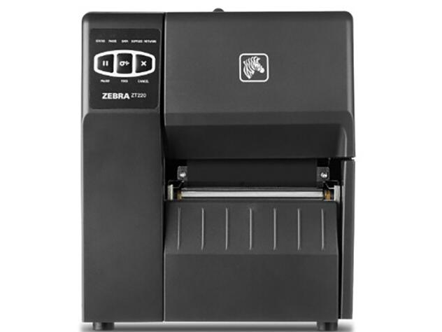斑马(ZEBRA)ZT210 230条码打印机 亚银PET/铜版纸/合成纸不干胶标签二维码工业打标机