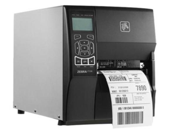 斑马(ZEBRA)ZT410打印机工业级 可选600点高清标贴产品条码打标机