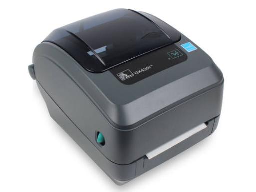 斑马(ZEBRA)GX430t条码打印机300dpi打标机 不干胶标签机热敏热转印固定资产标贴打码机
