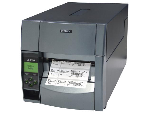 西铁城(CITIZEN)标签打印机 条码打印机 CL-S703C 300DPI/吊牌/洗标/洗唛