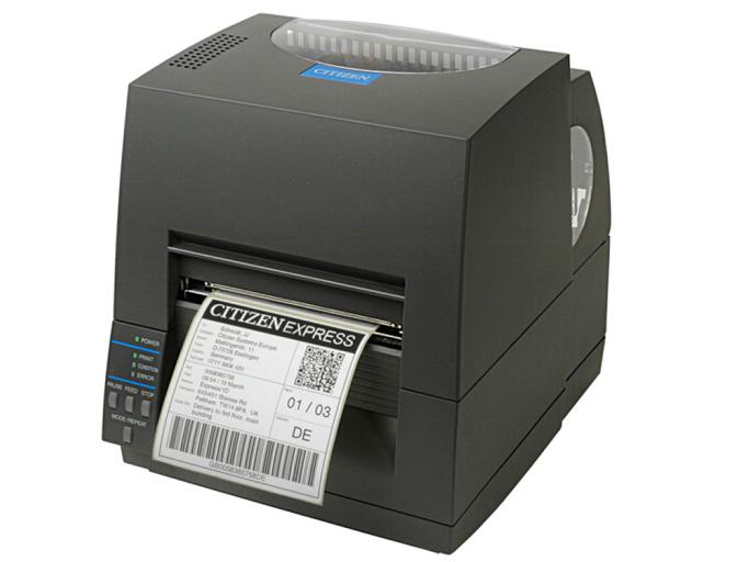 西铁城(CITIZEN)标签打印机 条码打印机 CL-S621C 203DPI/门票/吊牌打印机