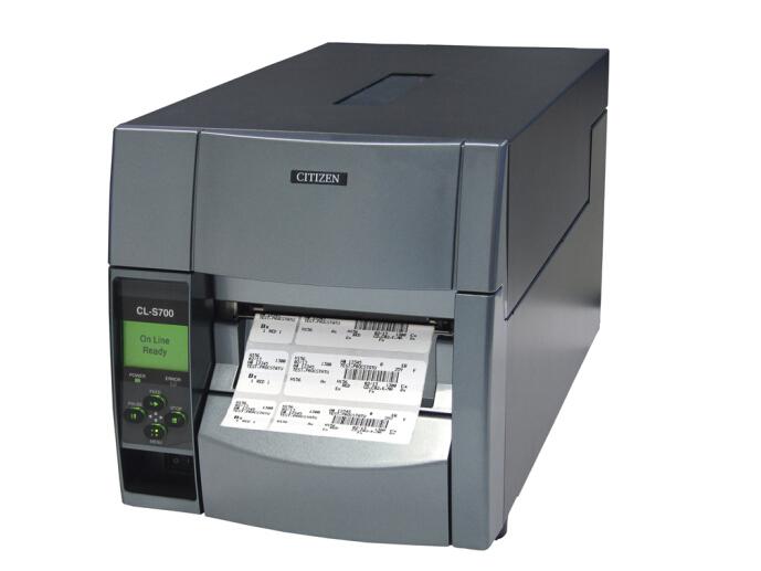 西铁城(CITIZEN)标签打印机 条码打印机 CL-S700C 203DPI/吊牌/贴纸/门票