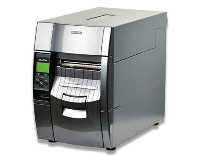 西铁城(CITIZEN)标签打印机 条码打印机 CL-S703R 内置回卷器剥离器/300DPI