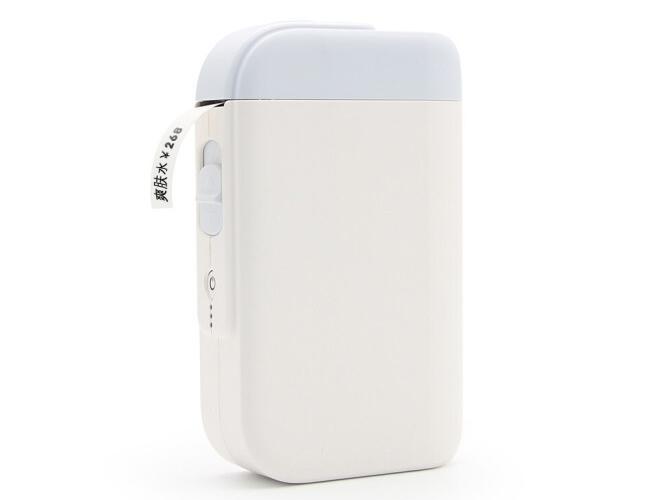 优博讯 K100 无线蓝牙便携式超市打价机 手持服装打价格打码器标价机不干胶家用标签机
