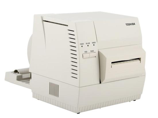 东芝 TOSHIBA 东芝B-462-TS22-CN-R条码打印机(标配切刀)