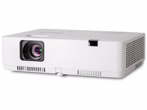 松下(Panasonic)PT-XZ400C紧凑型全高清 投影仪 投影机办公 商务 教学(WUXGA 4000流明 双HDMI)