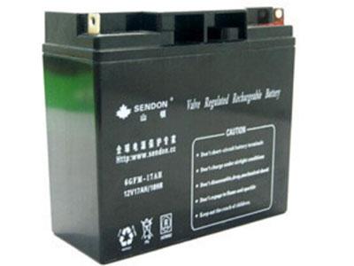 山顿6GFM-17蓄电池 12V17AH山顿蓄电池