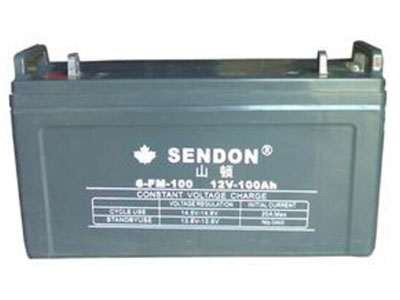 山顿 12V100AH铅酸蓄电池6-FM-100 UPS不间断电源铅酸电池