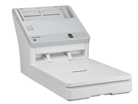 松下 A4平板双面扫描仪办公 KV-S3055 ADF+平板式40页/80面