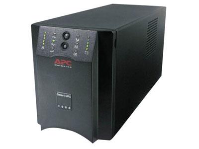 APC 施耐德 SUA1000ICH在线互动式UPS不间断电源670W/1000VA NAS服务器