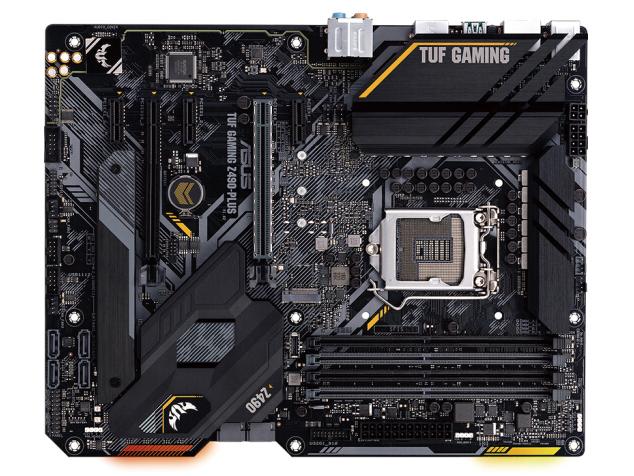华硕(ASUS)TUF GAMING Z490-PLUS电竞特工主板 支持 CPU 10900K/10700K(Intel Z490/LGA 1200)