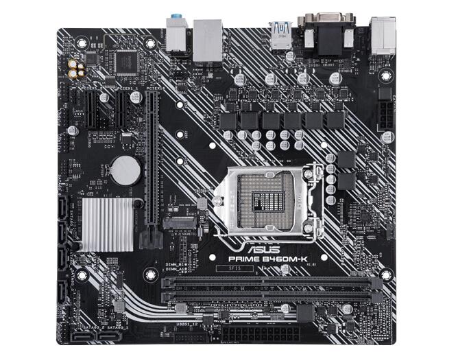 华硕(ASUS)PRIME B460M-K 大师主板 支持 CPU 10500/10400/10400F(Intel B460/LGA 1200)