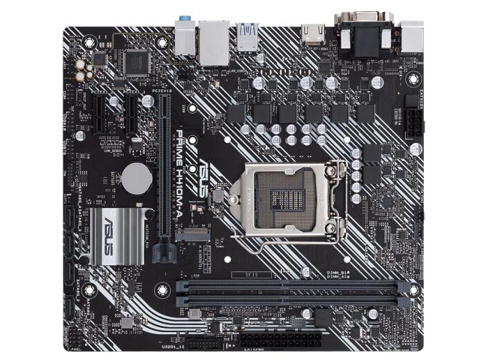 华硕(ASUS)PRIME H410M-A主板 支持 G5900/10100/10400F(Intel H410/LGA 1200)