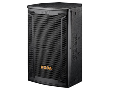 """科达  KD-10专业音响工程箱 """"使用全新复合式单元材料和驱动器结构,具备高输出和低失真的特性。低频单元采用高分子聚合物与植物纤维特定配方组成,并用特殊阻尼胶聚合而成,低频弹性十足,充分满足各种场合的音乐动态需求。方便灵活的吊装结构,为固定安装和拆卸提供了方便。                                                     系统类型:2-way 1x10""""""""Full range system"""
