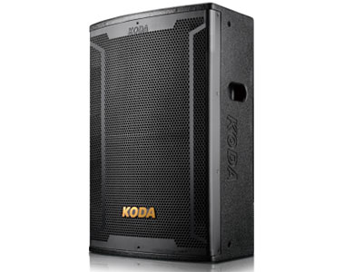 """科达  KD-15专业音响工程箱 """"使用全新复合式单元材料和驱动器结构,具备高输出和低失真的特性。低频单元采用高分子聚合物与植物纤维特定配方组成,并用特殊阻尼胶聚合而成,低频弹性十足,充分满足各种场合的音乐动态需求。方便灵活的吊装结构,为固定安装和拆卸提供了方便。                                                     系统类型:2-way 1x15""""""""Full range system"""